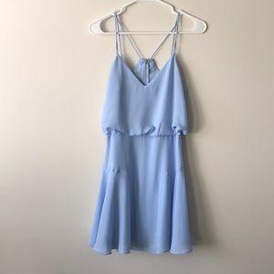 Lulu's blue mini dress